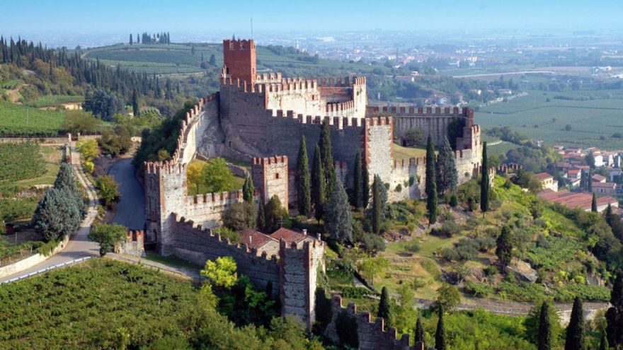 "The ""Castello Scaligero"" of Soave"
